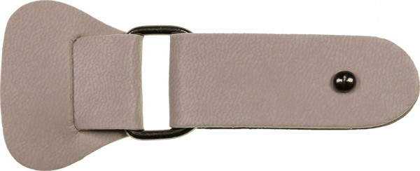 Taschenverschluss graubraun