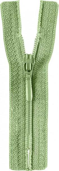 Reißverschluss Tropfenschieber 30-60 cm nicht teilbar grün