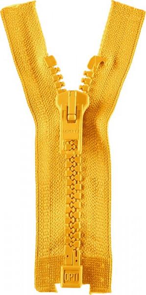 Reißverschluss P60 Werra 30-80 cm teilbar gelb