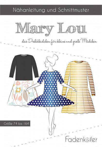 Schnittmuster Kleid Mary Lou Kinder Gr. 74-164