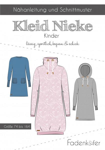 Schnittmuster Kleid NIEKE Kinder Gr. 74-164