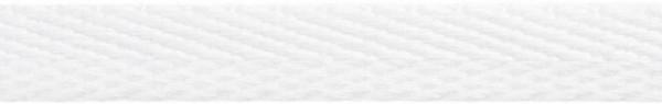 Hoodieband 15 mm weiß