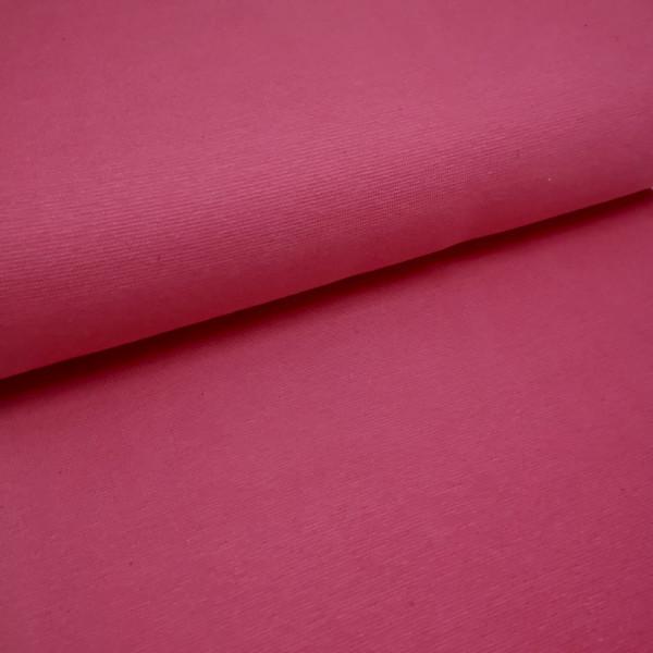 Bündchenstoff Feinstrick pink