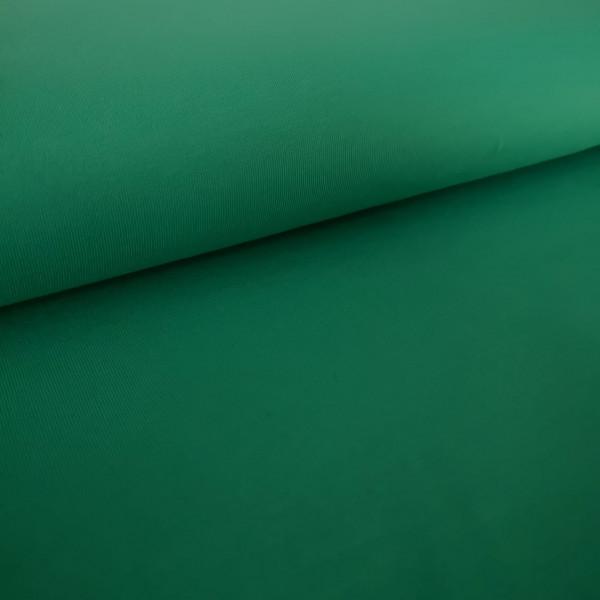 Baumwolljersey Uni dunkelgrün