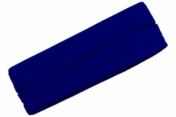 Jersey-Schrägband 20 mm blau