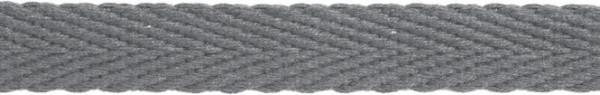 Hoodieband 15 mm grau
