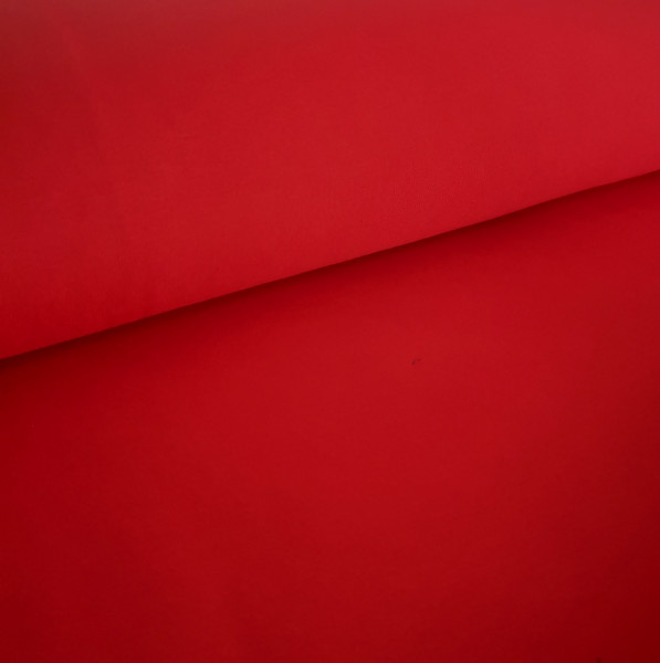 Alpenfleece Uni Rot