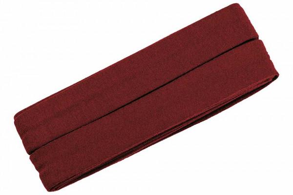 Jersey-Schrägband 20 mm rot