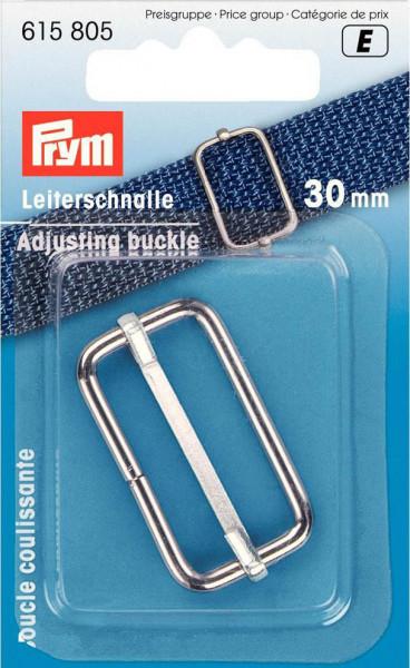 Leiterschnalle 30 mm, silberfarben