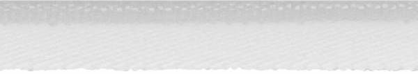 Paspelband elastisch 10 mm weiß