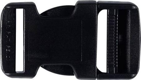Steckschnalle 30 mm schwarz