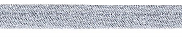 Paspelband 8 mm hellgrau