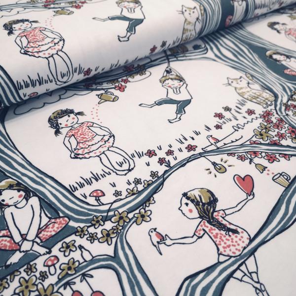Lillestoff Baumwolljersey Kindheitstraum