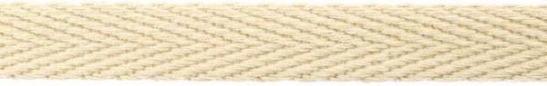 Hoodieband 15 mm beige